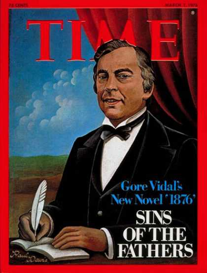 Time - Gore Vidal - Mar. 1, 1976 - Books