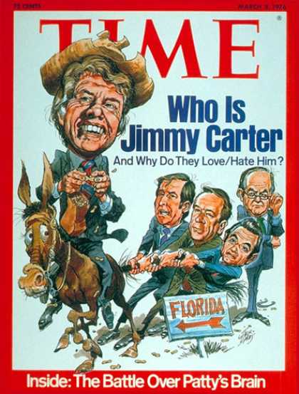 Time - Jimmy Carter - Mar. 8, 1976 - Democrats - Politics - Governors - Presidential El