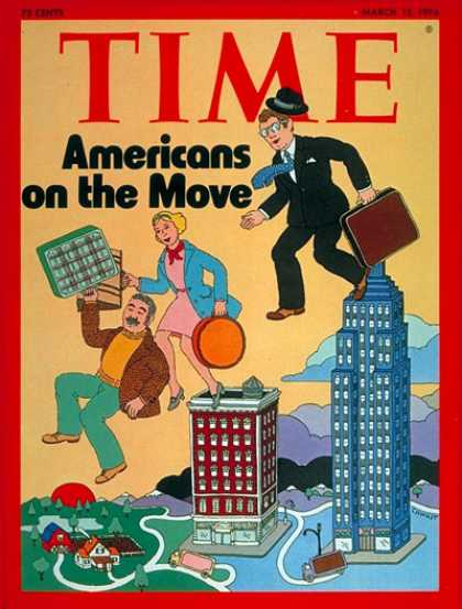 Time - Mobile Americans - Mar. 15, 1976 - Society - Economy