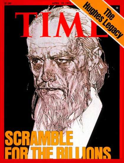 Time - Howard Hughes - Apr. 19, 1976 - Society