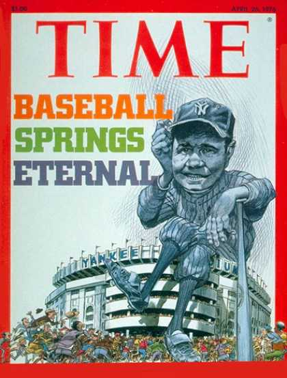 Time - Baseball - Apr. 26, 1976 - Sports