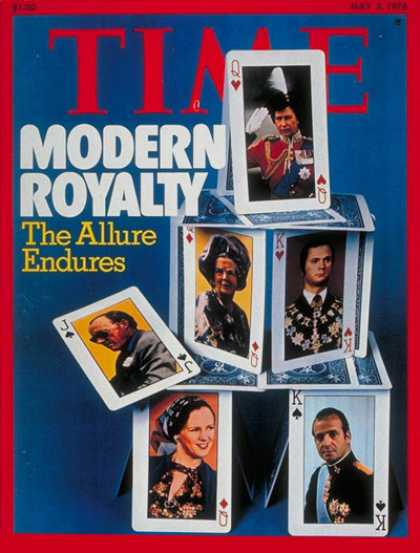 Time - Royal Families - May 3, 1976 - Royalty