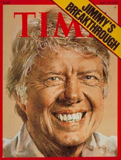 Time - Jimmy Carter - May 10, 1976 - Presidential Elections - Politics