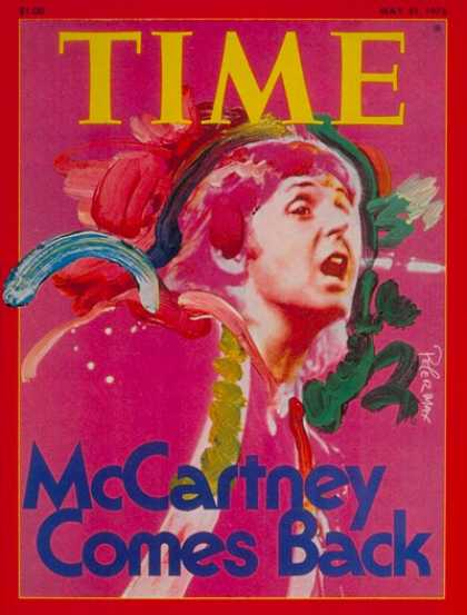 Time - Paul McCartney - May 31, 1976 - The Beatles - Music - Singers - Rock
