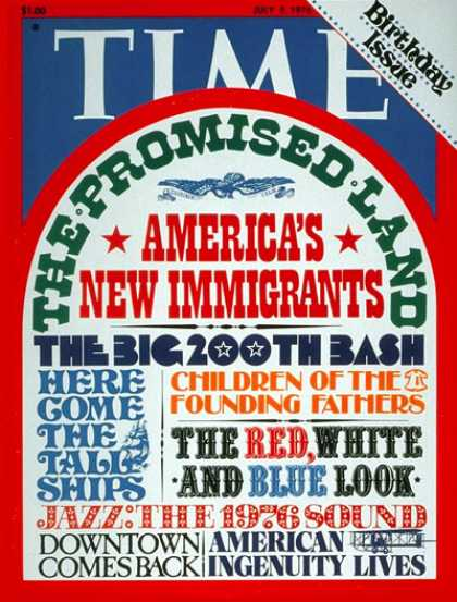 Time - Birthday Issue - July 5, 1976