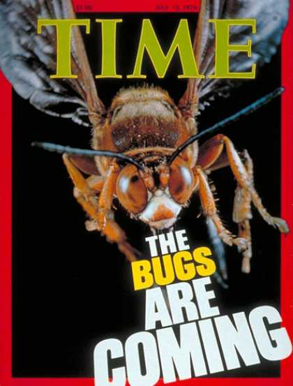 Time - Bugs - July 12, 1976 - Animals