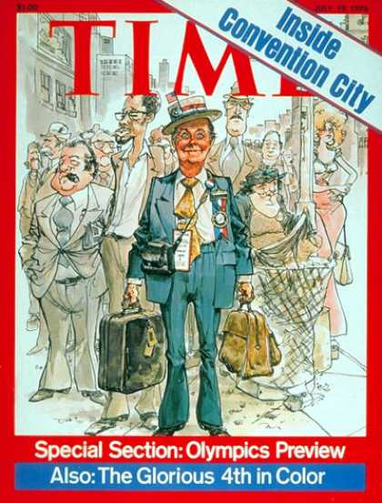 Time - The Democratic Convention - July 19, 1976 - Presidential Elections - Democrats -