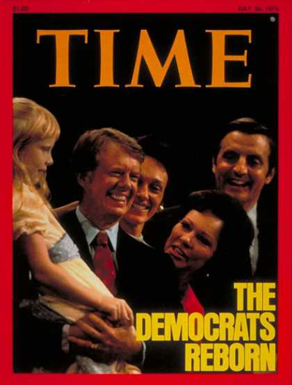 Time - Carter & Mondale - July 26, 1976 - Jimmy Carter - Walter Mondale - Presidential