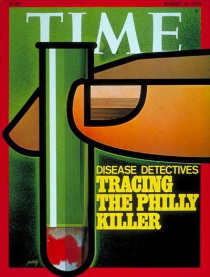 Time - Disease Detectives - Aug. 16, 1976 - Health & Medicine - Illness & Disease - Med