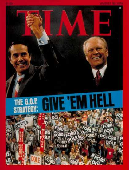 Time - The G.O.P Strategy - Aug. 30, 1976 - Politics