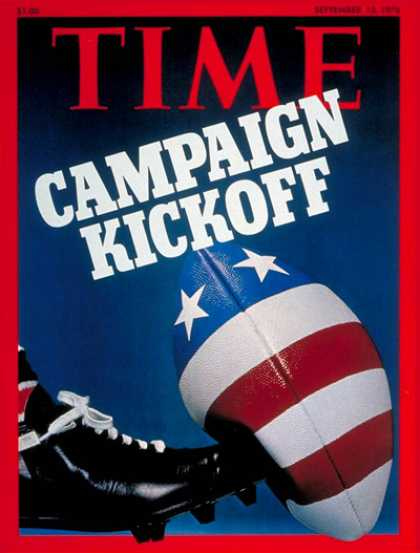 Time - The Campaign - Sep. 13, 1976 - Politics