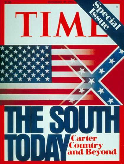 Time - The South - Sep. 27, 1976 - American Flag - Politics