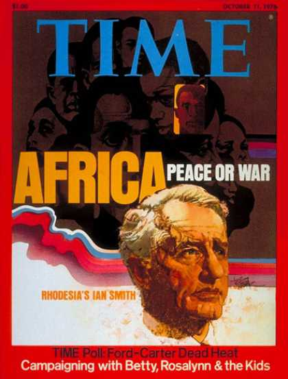 Time - Ian Smith - Oct. 11, 1976 - Africa