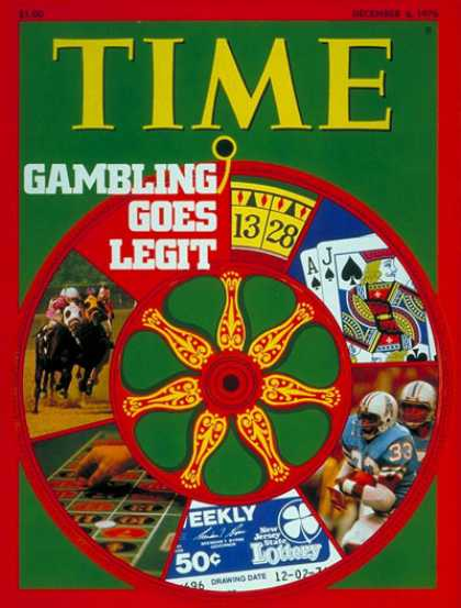 Time - Gambling Goes Legit - Dec. 6, 1976 - Society