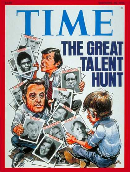 Time - The Democrats - Dec. 20, 1976 - Jimmy Carter - Walter Mondale - Presidential Ele