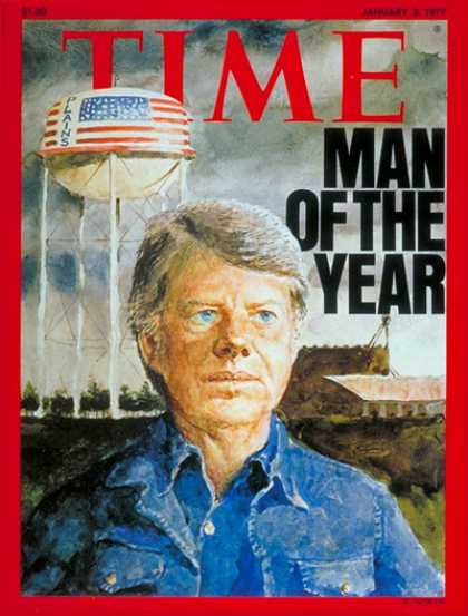 Time - Jimmy Carter, Man of the Year - Jan. 3, 1977 - Jimmy Carter - Person of the Year
