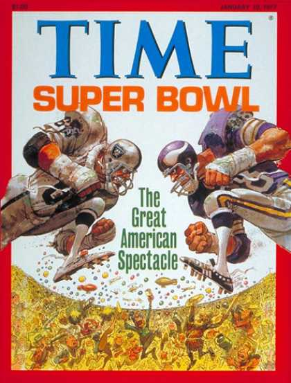 Time - The Super Bowl - Jan. 10, 1977 - Football - Super Bowl - Sports