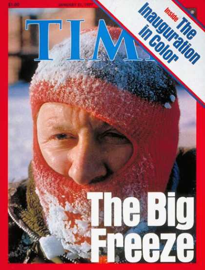 Time - Winter Weather - Jan. 31, 1977 - Weather - Environment
