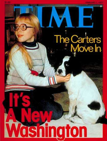 Time - Carter's Washington - Feb. 7, 1977 - Jimmy Carter - U.S. Presidents - Politics