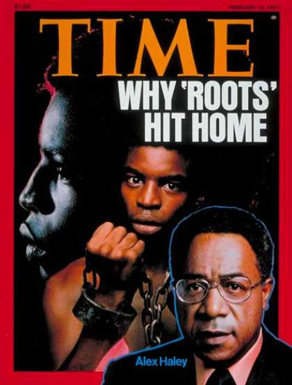 Time - Alex Haley - Feb. 14, 1977 - Books