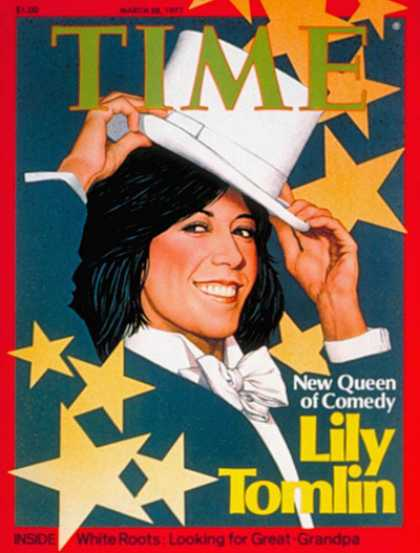Time - Lily Tomlin - Mar. 28, 1977 - Actresses - Movies