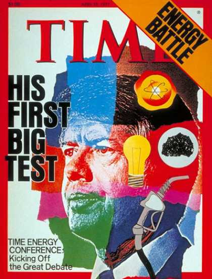 Time - Jimmy Carter - Apr. 25, 1977 - U.S. Presidents - Politics