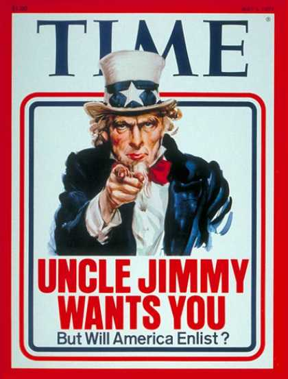 Time - The Energy Crisis - May 2, 1977 - Uncle Sam - Energy