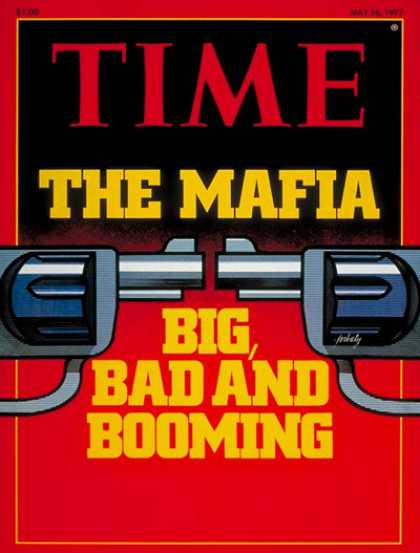 Time - The Mafia - May 16, 1977 - Crime - Organized Crime - Society - Mafia - Law Enfor