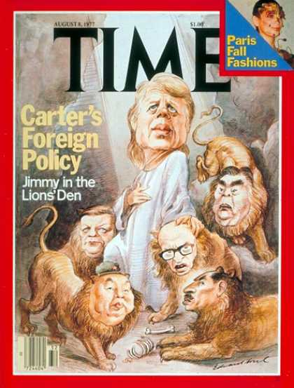 Time - U.S. Foreign Policy - Aug. 8, 1977 - Politics