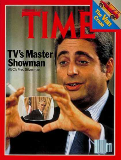 Time - Fred Silverman - Sep. 5, 1977 - Television - Business - Broadcasting