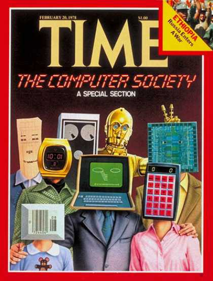 Time - The Computer Society - Feb. 20, 1978 - Science & Technology - Computers
