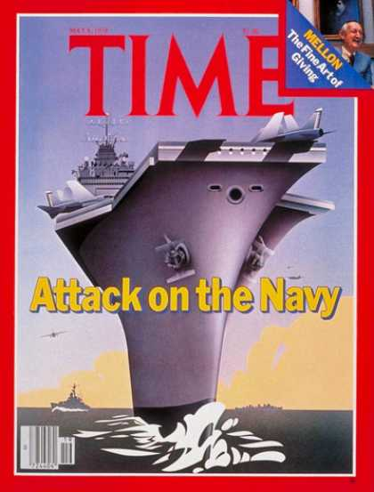 Time - U.S. Navy - May 8, 1978 - Navy - Military