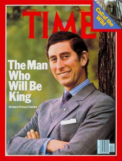 Time - Prince Charles - May 15, 1978 - Royalty - Great Britain