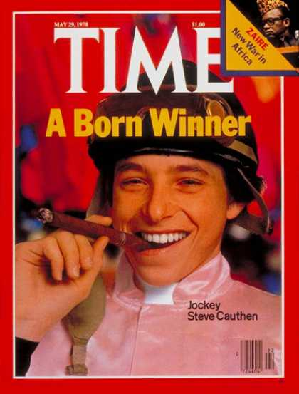 Time - Steve Cauthen - May 29, 1978 - Horse Racing - Sports