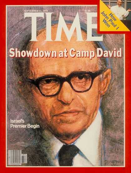 Time - Menachem Begin - Sep. 11, 1978 - Middle East