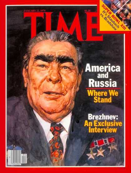 Time - Leonid Brezhnev - Jan. 22, 1979 - Russia
