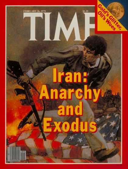 Time - Anarchy in Iran - Feb. 26, 1979 - Iran - Middle East