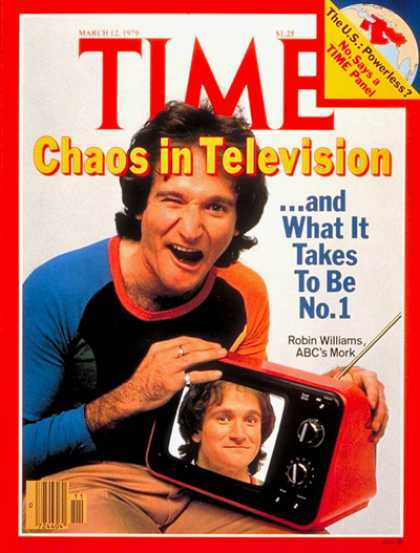 Time - Robin Williams - Mar. 12, 1979 - Television - Most Popular - Actors - Comedy - M