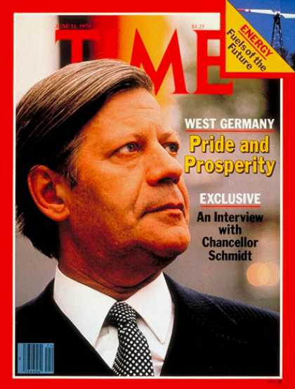 Time - Helmut Schmidt - June 11, 1979 - Germany