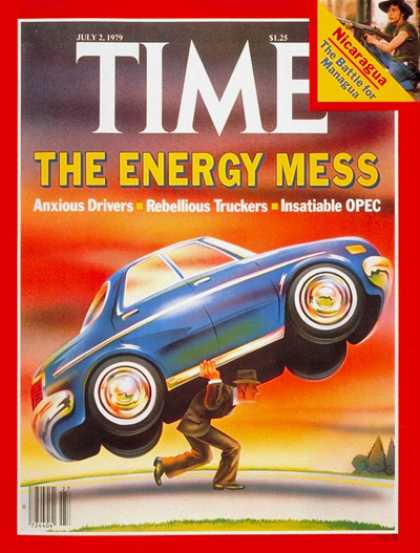 Time - Energy Mess - July 2, 1979 - Energy - Economy