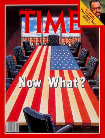Time - Carter's Cabinet Purge - July 30, 1979 - Jimmy Carter - U.S. Presidents - Politi