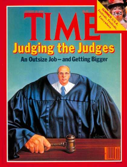 Time - Judging the Judges - Aug. 20, 1979 - Law