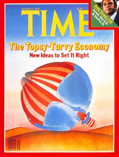 Time - Topsy-Turvy Economy - Aug. 27, 1979 - Business - Economy