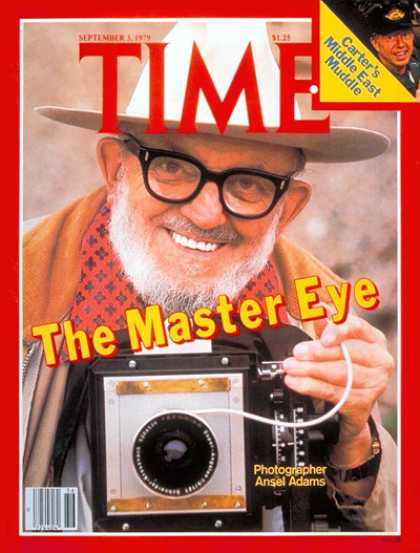 Time - Ansel Adams - Sep. 3, 1979 - Photography - Nature - Art