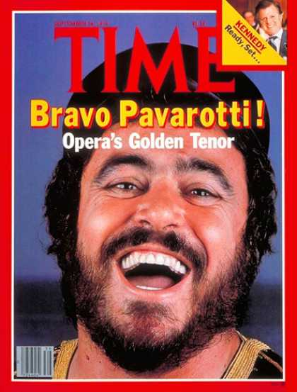 Time - Luciano Pavarotti - Sep. 24, 1979 - Opera - Singers - Music