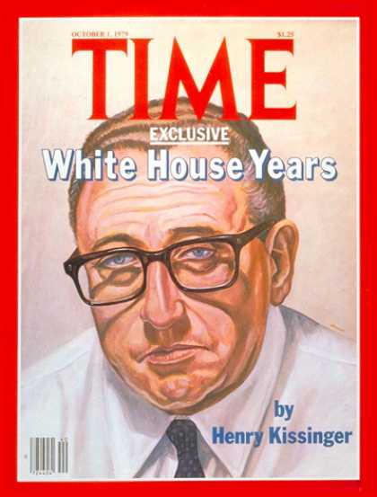 Time - Henry Kissinger - Oct. 1, 1979 - Politics