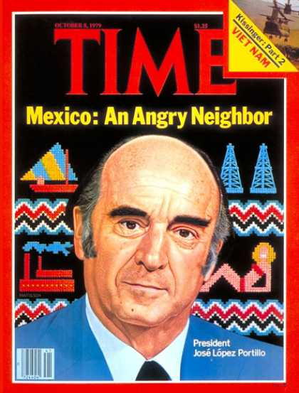 Time - Mexico's Lopez Portill - Oct. 8, 1979 - Mexico - Latin America