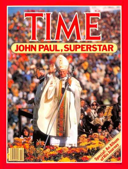 Time - Pope John Paul II - Oct. 15, 1979 - Religion - Christianity - Popes - Catholicis