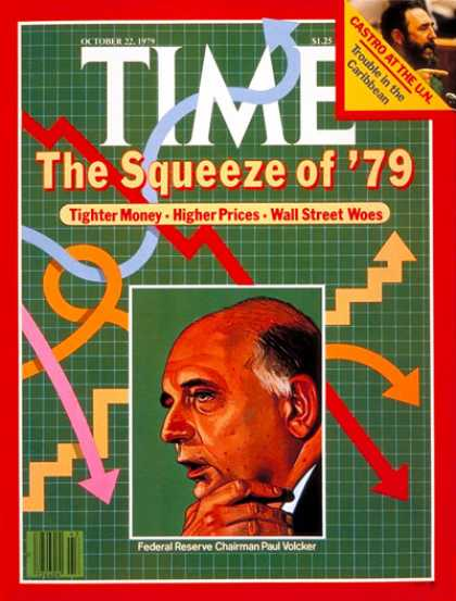 Time - Paul Volcker - Oct. 22, 1979 - Business - Economy
