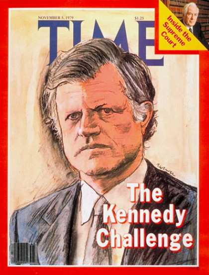 Time - Edward Kennedy - Nov. 5, 1979 - Politics